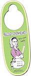 Oval Door Hangers (Laminated)